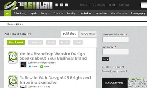 The Web Blend