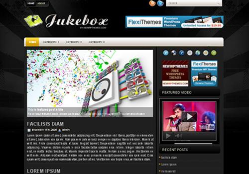 Jukebox WordPress Theme