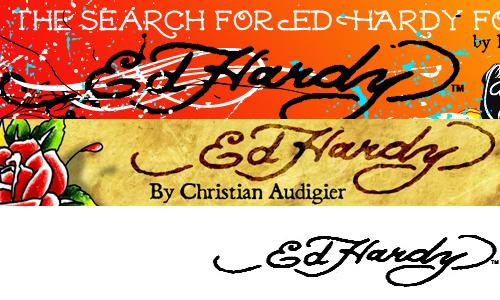Ed Hardy font