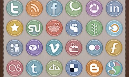 Social Media Icon Pack .VI