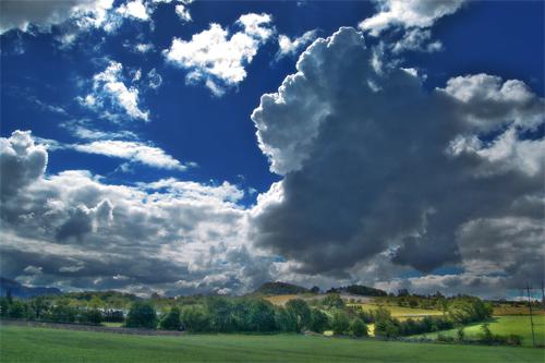 The blue sky ..2