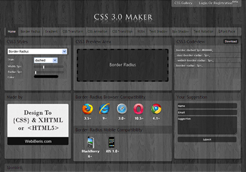 css3.0 maker