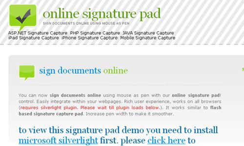 onlinesignaturepad