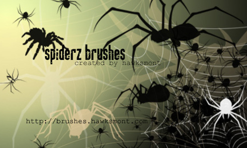 Spiderz Brushes