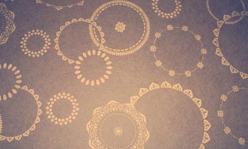 Purple Vintage Circles