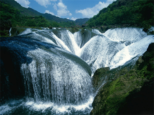 Yangtze River Waterfalls