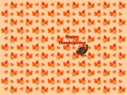 Happy Thanksgiving 3 Wallpaper