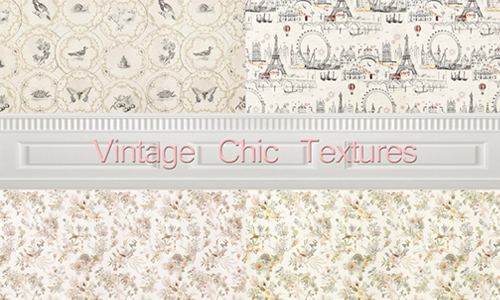 Vintage Chic Textures