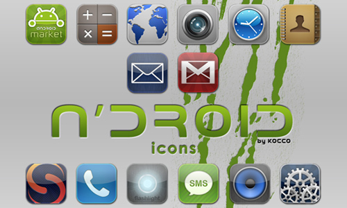 n'droid icons