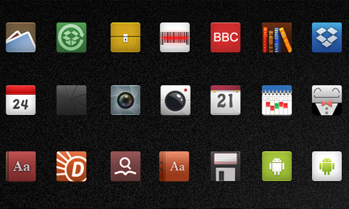 Icons for Android