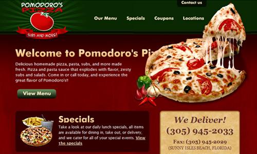 pomodoro's pizza