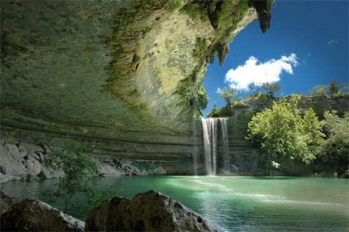 Hamilton Pool near Austin, Texas