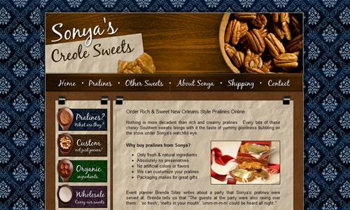 Sonya's creole sweets