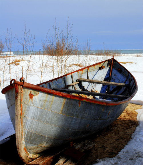 Rusty Old Boat