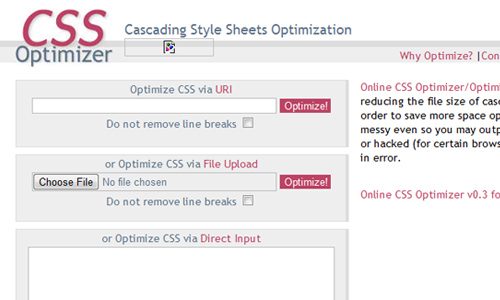 css optimiser