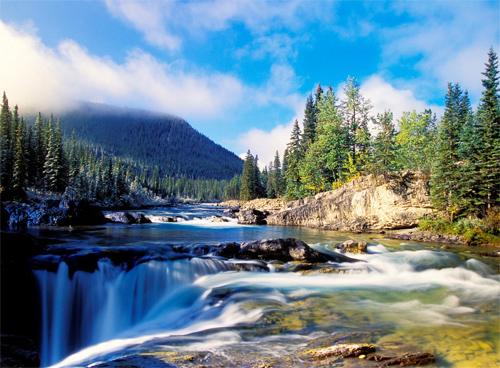 Beauty waterfalls
