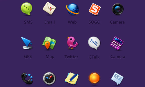 Smaller-icons for Android