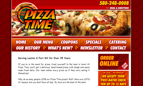 pizza time restaurant