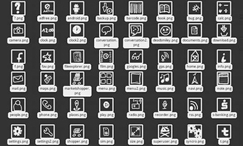 Dirty Handmade Android Icons 3