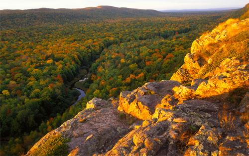 Autumn In Mountains Wallpaper