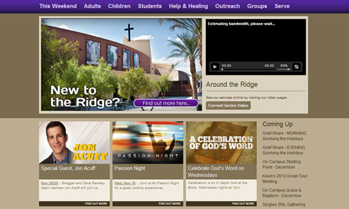 canyon ridge Christian Church