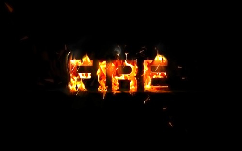 Create Awesome Particle Flame Text Effect in Photoshop