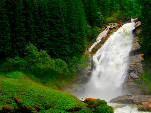 Krimml Waterfalls, Austria