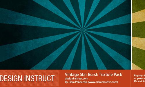 Vintage Starburst: Texture Pack