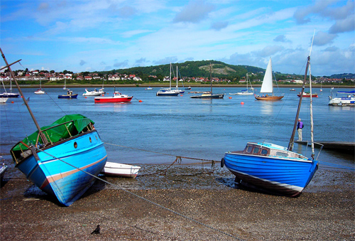 Boats at Conwy