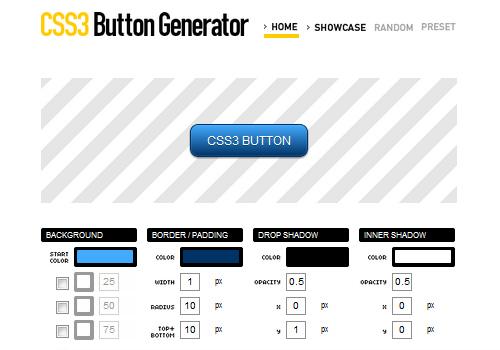 css3 button Generator