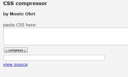 phpinsider.com - CSS Compressor