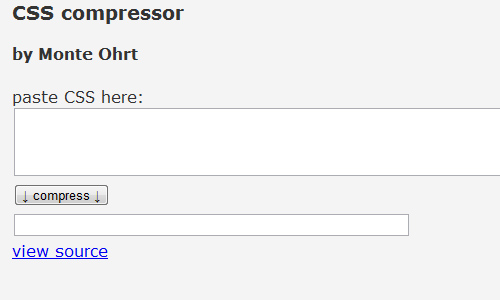 20 Useful Examples of Web-Based CSS Compressor - blueblots com