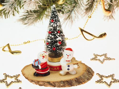 Santa and Snowman wallpapers