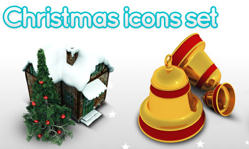 Archigraphs Christmas icon set