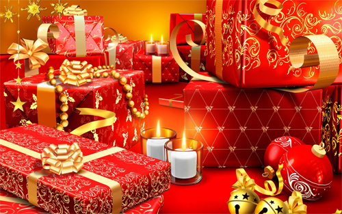 Christmas presents wallpapers
