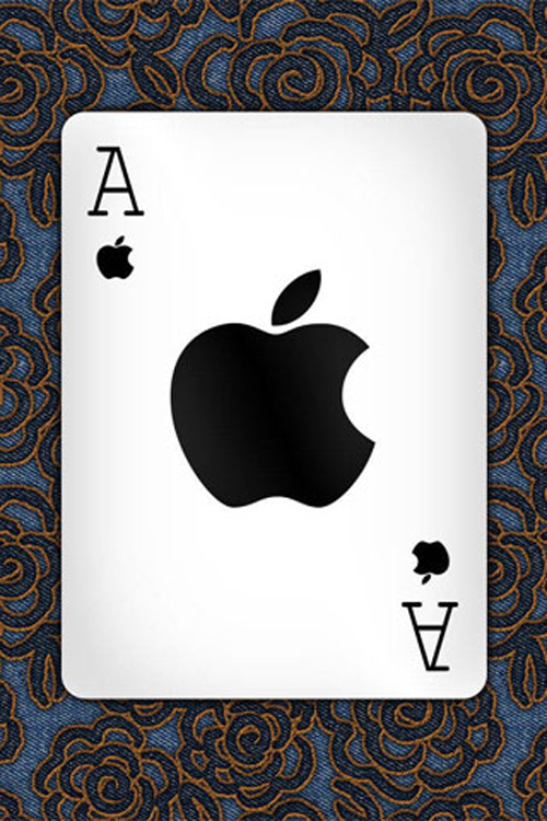 Apple Ace iPhone Wallpaper