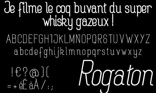rogaton font