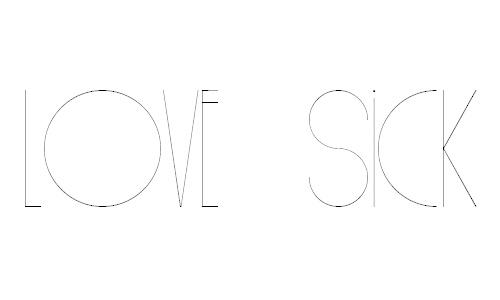 Love Sick font