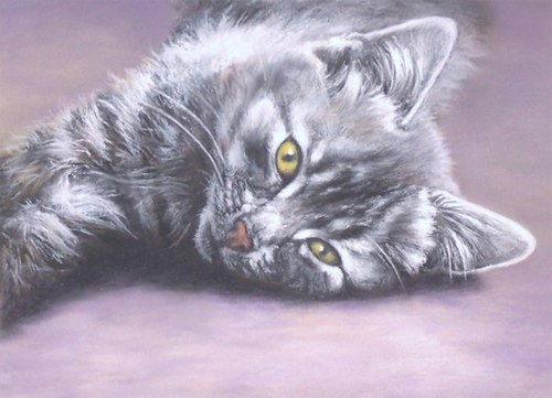 Lexi - Pastel Painting