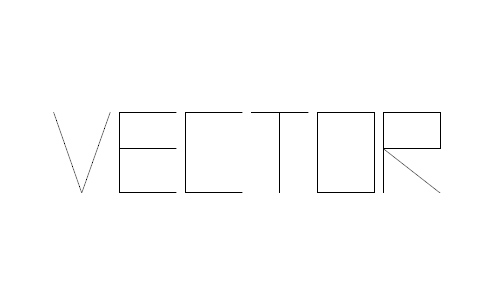 Vector Battle font