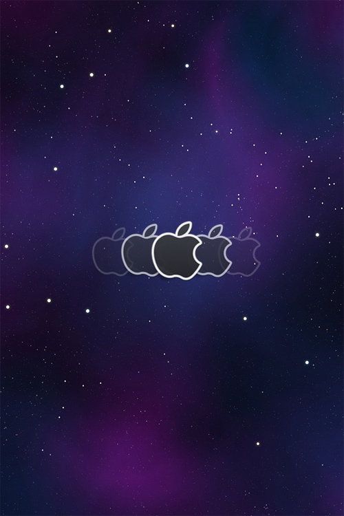 iPhone Space Lock screen