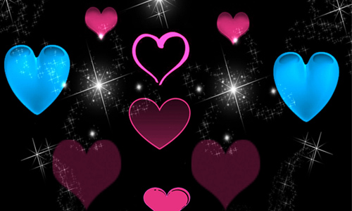 Heart Love Brush PS7