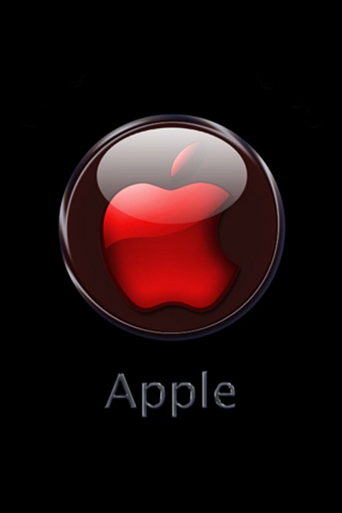Apple Logo iPhone Wallpaper
