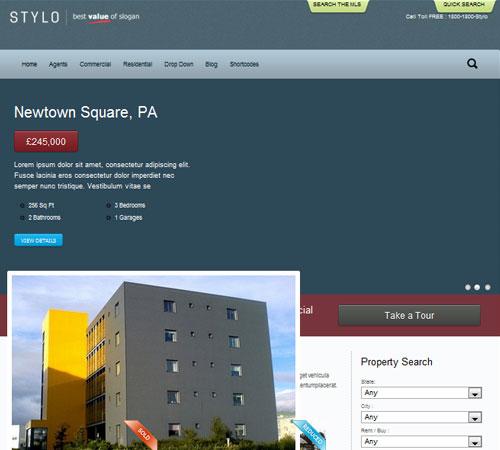 Stylo - Premium Realestate WordPress Theme