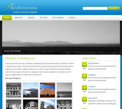 Architectura WordPress Theme (CMS)