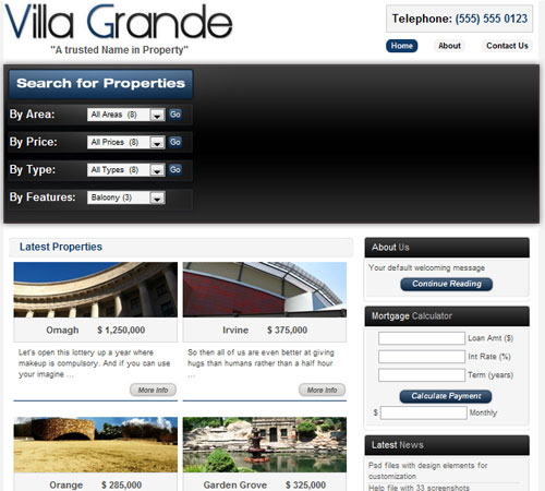 Villa Grande - Real Estate