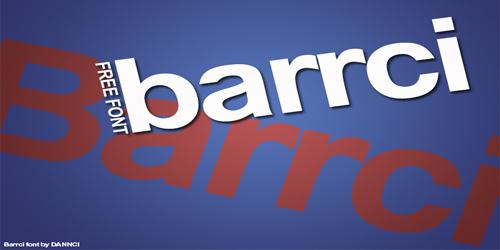 Barrci Free Elegant font